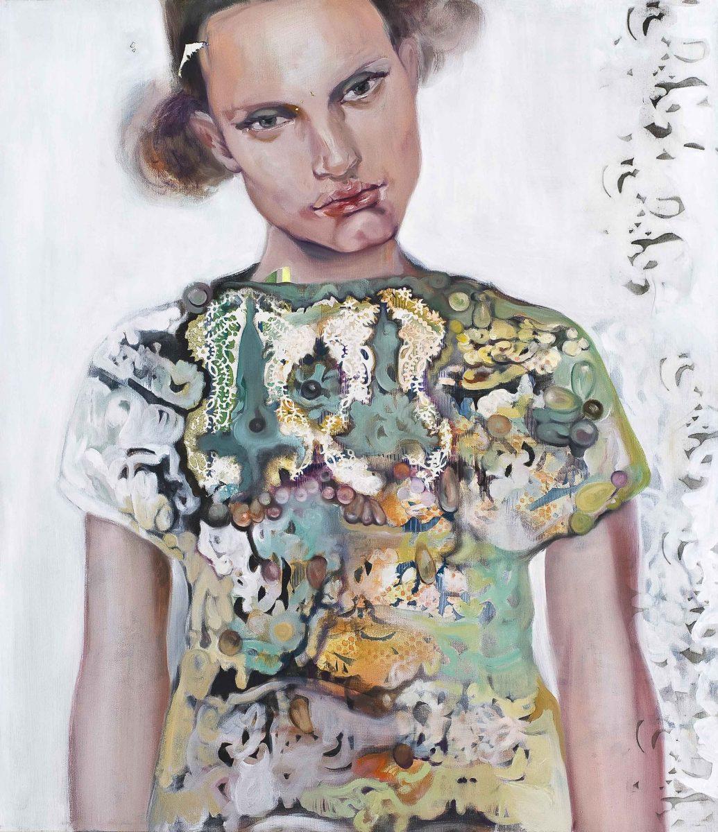 Analogica - olio su tela / oil on canvas, cm 105×90