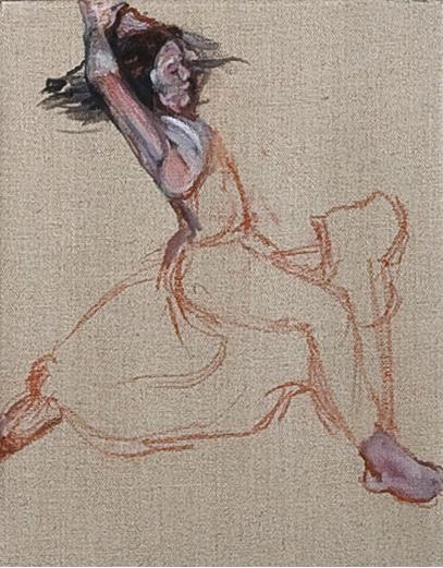 kleine Stüche - olio su tema / oil on canvas, cm 24x30