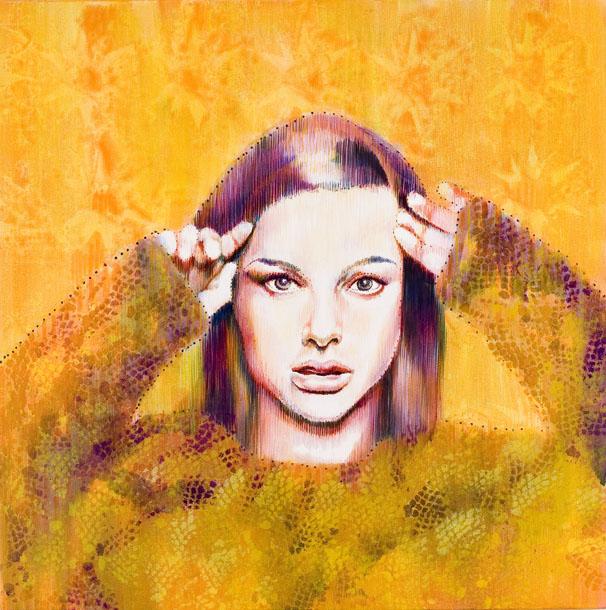 Polvere di stelle - olio su tela / oil on canvas, cm 70x70